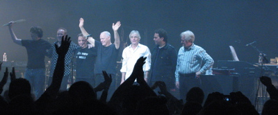 David Gilmour, Richard Wright of Pink Floyd in concert at Oakland Paramount Theater, CA - April 17, 2006